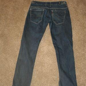 LEVI'S 511 Stretch Jeans 32 x 33 Denim Straight